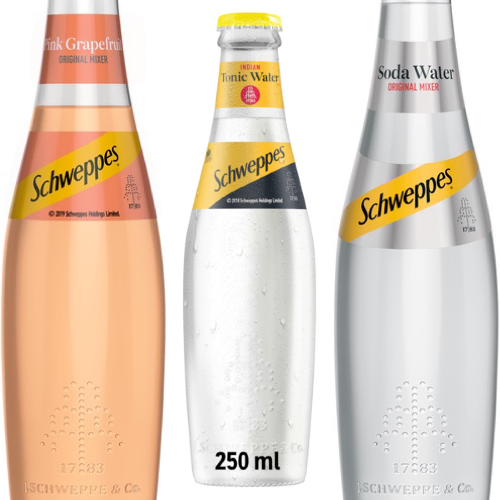Schweppes/ Soda/ Tonic/ Pink Grapefruit/ 250ml