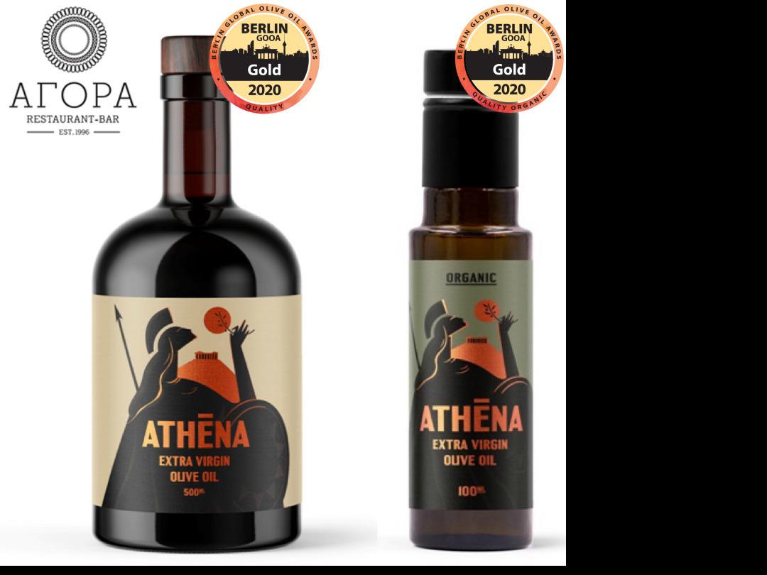 ATHENA Bio Extra Virgin Olive Oil
